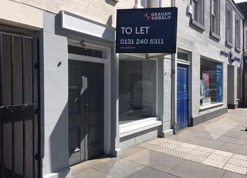 Thumbnail Retail premises to let in 74 High Street, Linlithgow