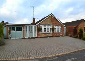 Thumbnail 3 bed detached bungalow for sale in Lutterworth Road, Burbage, Leics