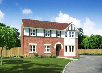 "Thumbnail 4 bed detached house for sale in ""Hollandswood"" at Palladian Gardens, Hooton Road, Hooton, Wirral"