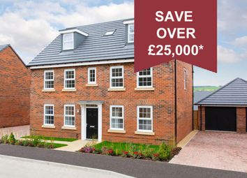 """Thumbnail 5 bedroom detached house for sale in """"Buckingham"""" at Welland Close, Burton-On-Trent"""