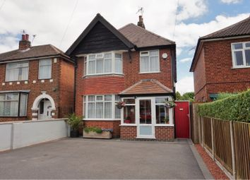 Thumbnail 4 bed detached house for sale in Holmfield Avenue West, Leicester