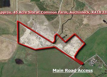 Thumbnail Land for sale in Darnconner Occs, Common Farm, Auchinleck, East Ayrshire KA183Jn