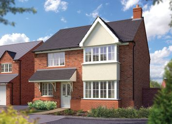 "Thumbnail 4 bedroom detached house for sale in ""The Canterbury"" at Stafford Road, Eccleshall, Stafford"