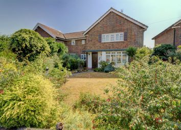 Thumbnail 4 bed semi-detached house for sale in The Roundway, Claygate, Esher