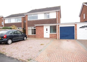 Thumbnail 3 bed detached house for sale in Blenheim Crescent, Broughton Astley, Leicester