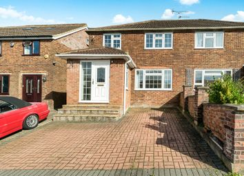 Thumbnail 4 bed semi-detached house for sale in Walton Drive, High Wycombe
