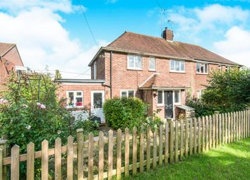 Thumbnail 3 bed semi-detached house for sale in Woodman Close, Sparsholt, Winchester