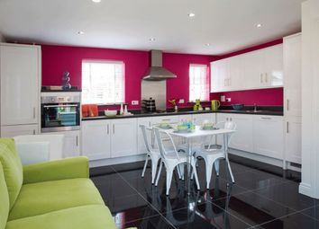 "Thumbnail 4 bed detached house for sale in ""Lincoln"" at Blackthorn Crescent, Brixworth, Northampton"