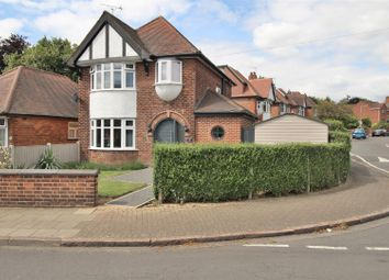 Thumbnail 3 bed detached house for sale in Hall Drive, Chilwell, Nottingham