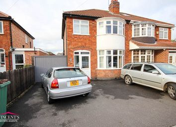 Thumbnail 3 bed semi-detached house for sale in Lyndale Road, Leicester