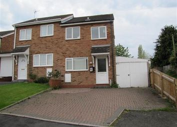 Thumbnail 2 bed semi-detached house for sale in Hadrian Drive, Coleshill, Birmingham