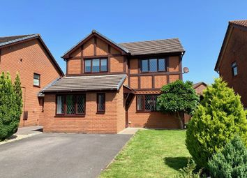 Thumbnail 4 bed detached house for sale in Picton Gardens, Bridgend