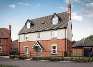 Thumbnail 6 bed detached house for sale in Heather Lane, Ravenstone, Coalville