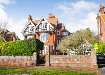Thumbnail 3 bed flat for sale in Denton Road, Eastbourne