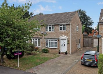 Thumbnail 3 bed semi-detached house for sale in Grenville Gardens, Frimley Green