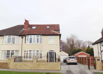 Thumbnail 6 bed semi-detached house for sale in Street Lane, Leeds