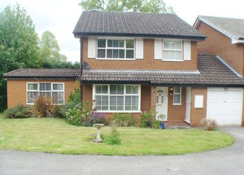 Thumbnail 4 bed link-detached house for sale in Rowantrees, Rednal