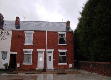 Thumbnail 2 bedroom end terrace house to rent in Manor Road, Brimington, Chesterfield