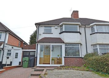 Thumbnail 3 bedroom semi-detached house for sale in New Inns Lane, Rednal, Birmingham