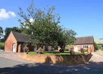 Thumbnail 3 bed bungalow to rent in Netley Old Hall Farm, Netley, Dorrington