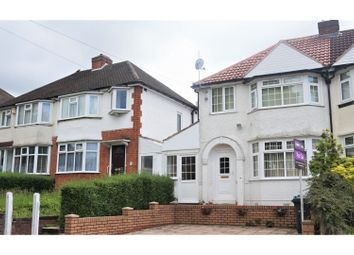 Thumbnail 3 bed semi-detached house for sale in Steyning Road, Birmingham