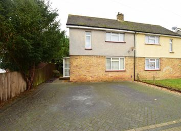 2 bed semi-detached house for sale in Codrington Crescent, Gravesend, Kent DA12