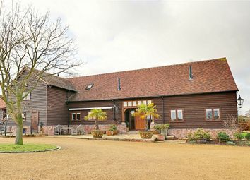 Thumbnail 5 bed barn conversion for sale in Ongar Road, Dunmow, Essex