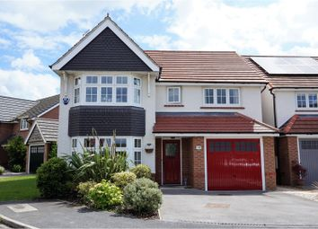 Thumbnail 4 bed detached house for sale in Saxon Way, Sherburn In Elmet