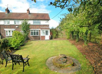 Thumbnail 2 bed cottage for sale in Waterworks Lane, Hooton, Ellesmere Port