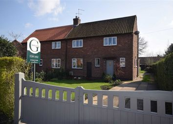 Thumbnail 3 bed semi-detached house for sale in Orchard Close, Bleasby, Nottingham