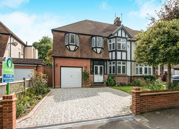 Thumbnail 4 bed semi-detached house for sale in Park Crescent, Chatham