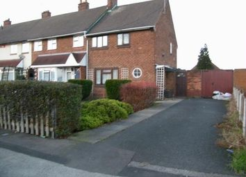 Thumbnail 2 bedroom end terrace house for sale in Cavendish Road, Walsall, West Midlands