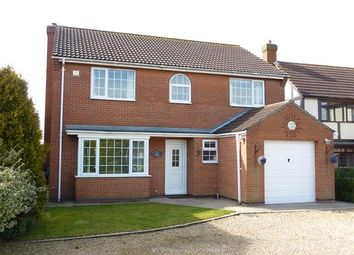 Thumbnail 4 bed detached house for sale in Highfield Road, North Thoresby, Grimsby