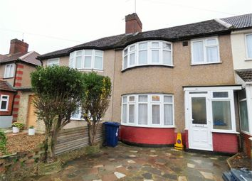 Thumbnail 3 bed terraced house to rent in Fraser Road, Perivale, Greenford, Greater London