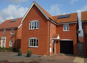 Thumbnail 3 bed detached house for sale in Buttermere Way, Carlton Colville, Lowestoft, Suffolk