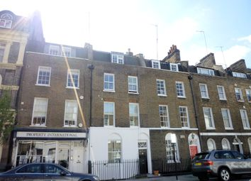 Thumbnail 1 bed flat to rent in Molyneux Street, London