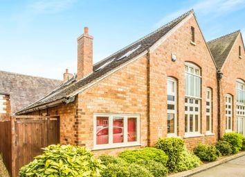 Thumbnail 1 bedroom flat for sale in Old School Yard, Sapcote, Leicester