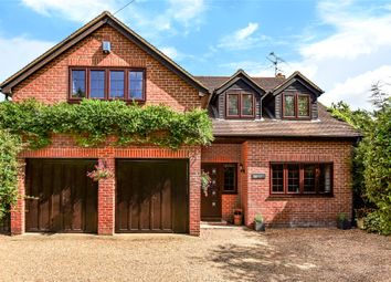 Thumbnail 4 bed detached house for sale in Darby Green Road, Darby Green, Camberley