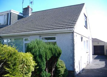 Thumbnail 2 bed bungalow to rent in 13 Chaucer Close, Cefn Glas, Bridgend.