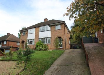 Thumbnail 3 bed semi-detached house for sale in Desborough Avenue, High Wycombe