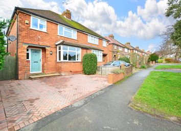 Thumbnail 3 bed semi-detached house for sale in Rydes Hill Road, Guildford