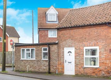 Thumbnail 2 bed end terrace house for sale in Lynn Road, Swaffham