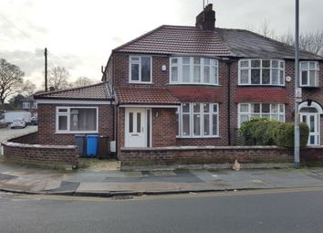 Thumbnail 4 bed semi-detached house to rent in Arnfield Street, Withington