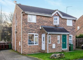 Thumbnail 2 bed semi-detached house for sale in Park Close, Ryhill, Wakefield