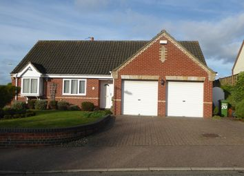 Thumbnail 3 bed detached bungalow for sale in Rowan Way, Worlingham, Beccles