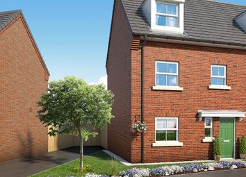 "Thumbnail 4 bed property for sale in ""The Honeysuckle At Mill Farm, Tibshelf"" at Mansfield Road, Tibshelf, Alfreton"