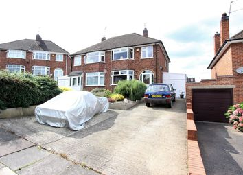 Thumbnail 3 bed semi-detached house for sale in Lancing Avenue, Leicester