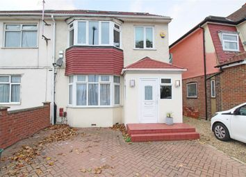 Thumbnail 4 bed semi-detached house for sale in Hall Road, Isleworth