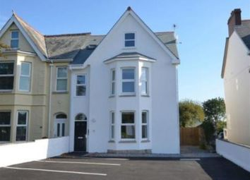 Thumbnail 2 bed flat to rent in Treyew Road, Truro