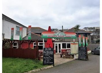 Thumbnail Restaurant/cafe for sale in Del Mar, St George's Hill, Perranporth, Cornwall